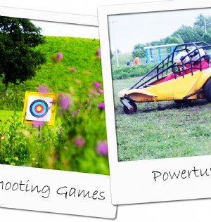 Shooting games & powerturn